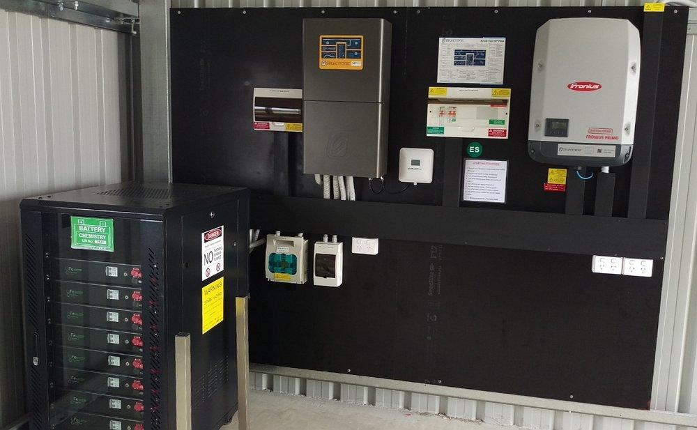 Off Grid Solar Battery Storage